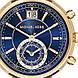 Часы Michael Kors Sawyer Gold-Tone And Embossed-Leather MK2425, фото 2