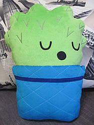 Мягкая игрушка-подушка стикер Кактус из Телеграм Cacti Telegram sticer