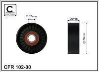 Ролик натяжной ремня приводного MERCEDES C (CL203)/C II (W203)/C III Chrysler  VB - SPRINTER