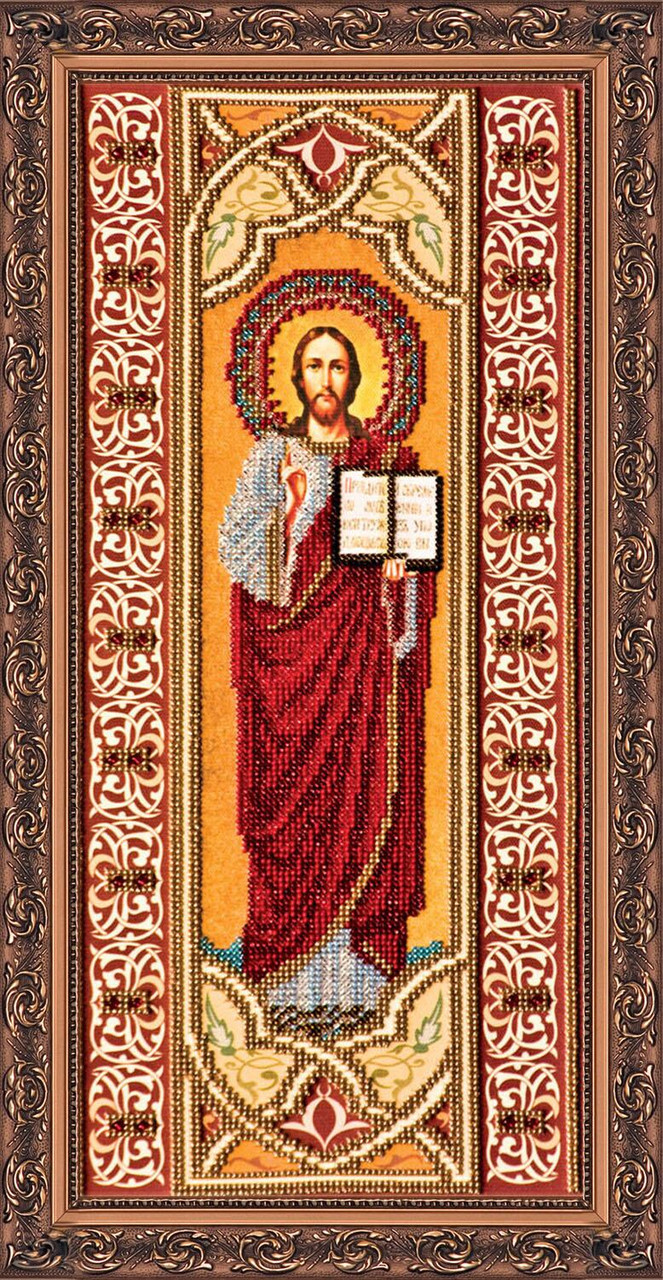 """Набор для вышивания бисером """"Иисус"""""""