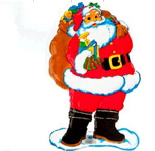"""Плакат """"Дед Мороз"""""""