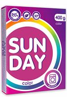 Стиральный порошок SUNDAY 400г. для цветного автомат БФ