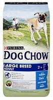 Dog Chow (Дог Чау) Adult Large Breed Для взрослых собак крупных пород с индейкой 14 кг