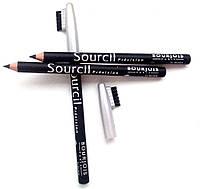 Карандаш для бровей - Bourjois Sourcil precision Souligner-Line (цвет 01 black)