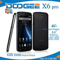 "Смартфон Doogee X6 pro ("" 5,5 экран; памяти 2/16; MTK6735)"