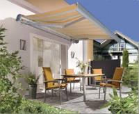 """Солнцезащитная горизонтальная маркиза """"ЕМ-6700"""" для ресторанов, кафе и гостинниц"""