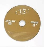 VS DVD-RW (4.7Gb, 4x, bulk 50pcs, золотистый)
