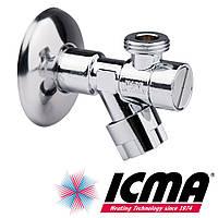 Приборный хромированный кран 1/2*1/2 Icma 518