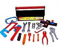 Набор инструментов Юный Слесарь в чемодане 31-004