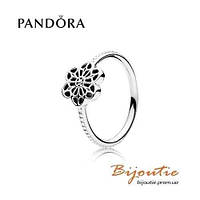 Pandora кольцо ЦВЕТОЧНОЕ КРУЖЕВО № 190992 серебро 925 Пандора оригинал