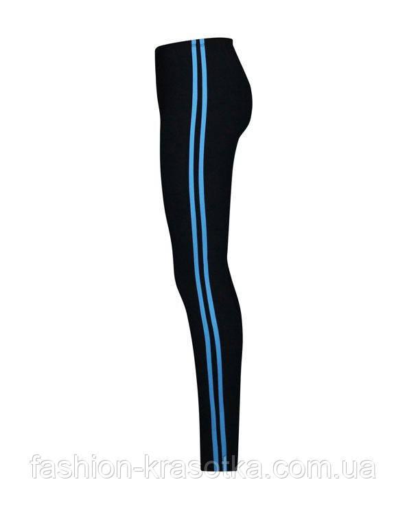 Лосины для фитнеса Полоски,длинные,размеры 46-64