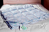 Одеяло пуховое Экопух 100/0 172х205 1200г крем, фото 1