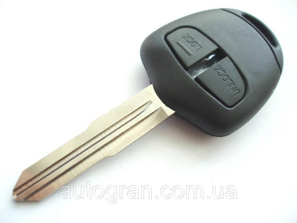 Корпус ключа Mitsubishi 2 кнопки левостороннее лезвие