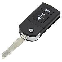 Ключ выкидной для Mazda 3 кнопки