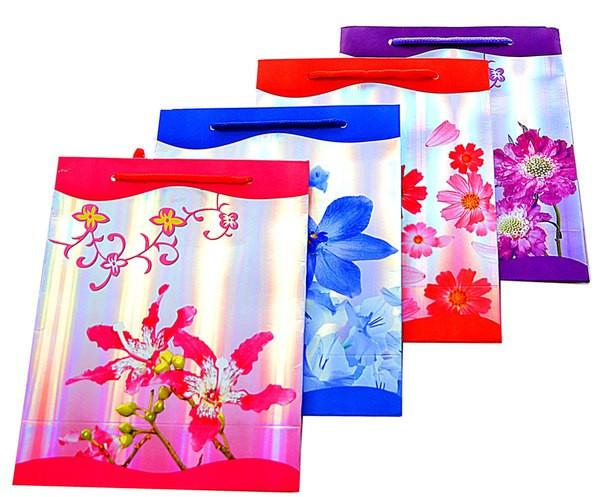 """Пакет подарочный """"Орхидея"""", размер 27*22*8см"""