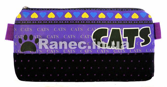 Пенал-косметичка школьный Cats 77942