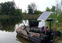 Солнечное зарядное устройство для лодки 40 Вт