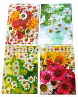 """Пакет подарочный  """"Цветы"""", размер 12,5*17,5*5,5см"""
