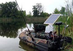Солнечное зарядное для лодочного мотора 40 Вт