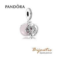 Pandora Шарм  ЦВЕТОЧНОЕ НАСТРОЕНИЕ 791843EN40 серебро 925 Пандора оригинал