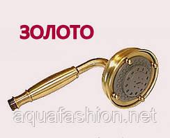 Ручний душ золотого кольору 5 позицій Bugnatese 19381