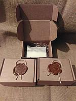 Коробочка из крафт картона