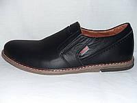 Мужские кожаные туфли Galios