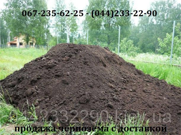 Купить чернозем-землю для сада, огорода