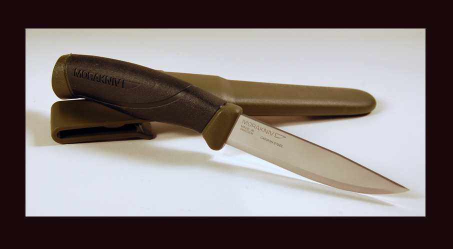 Нож из углеродистой стали Mora Companion MG High Carbon 11863