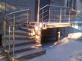 Перила из нержавеющей стали на крыльцо, фото 2
