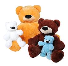 Маленький ведмедик плюшевий 55 см, фото 2