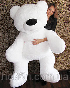 Большой плюшевый белый медведь Бублик, 2 метра