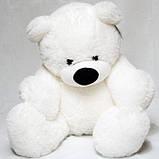 Плюшевый мишка Бублик белый  55 см, фото 4