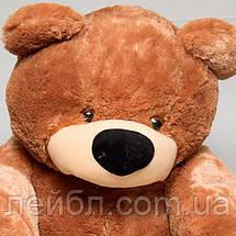 Плюшевий ведмедик Бублик білий 55 см, фото 3
