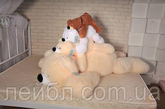 Плюшевий ведмідь Умка - лежачий 125 см, фото 3