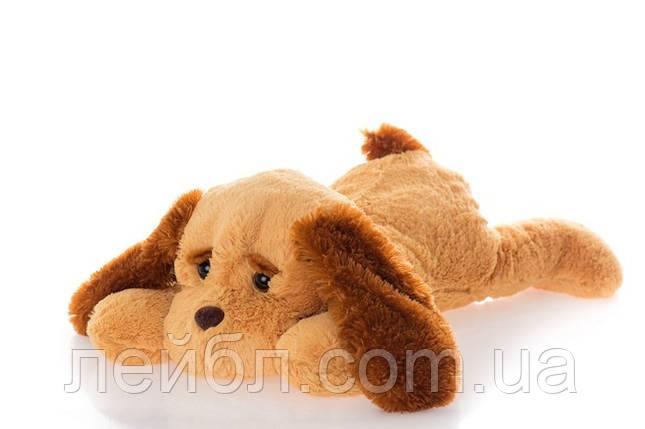 Іграшка собака лежача 50 см, фото 2