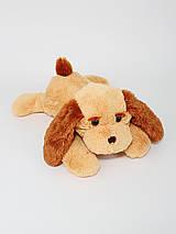 Іграшка собака лежача 50 см, фото 3