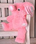 Плюшевая игрушка слоник от производителя 65 см, фото 8