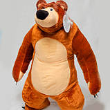 Маша и Медведь игрушка мягкая - мишка 75 см, фото 2