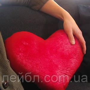 Подушка іграшка у вигляді серця 50 см