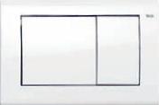 Панель смыва ТЕСЕplanus белая глянцевая, фото 1