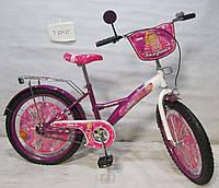 Велосипед  Балеринка 20 OPT-T-22021 purple + white