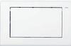 Панель смыва ТЕСЕplanus с одной клавишей, белая