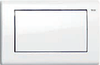 Панель смыва ТЕСЕplanus c одной клавишей, белая гл.