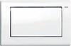 Панель змиву ТЕСЕplanus c однією клавішею, біла гол.