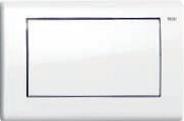 Панель смыва ТЕСЕplanus c одной клавишей, белая гл., фото 1