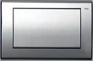 Панель смыва ТЕСЕplanus с одной клавишей, латунь, фото 1