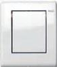 Панель смыва для писсуара ТЕСЕplanus белая гл., фото 1