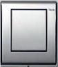 Панель смыва для писсуара ТЕСЕplanus латунь, хром гл., фото 1