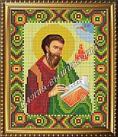 Схема для вышивания бисером Икона Святой апостол Матфей
